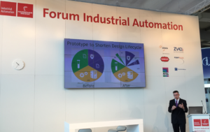 Cormac presenting at Industrial Automation Forum