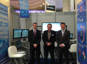 OPC UA President and Executive Director Thomas J Burke pays a visit to Hal Software at Hannover