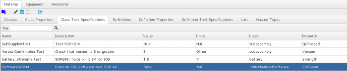 material properties, test specification, formula parameters, procedural logic. All easy in Spike